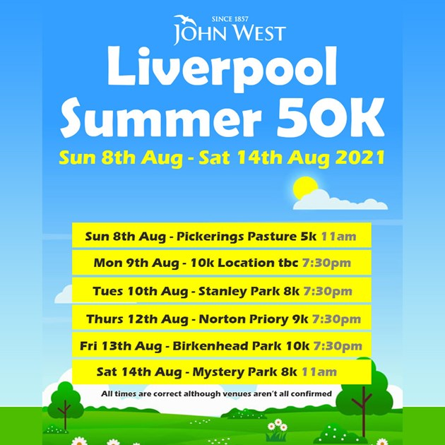 2021 John West Liverpool Summer 50k